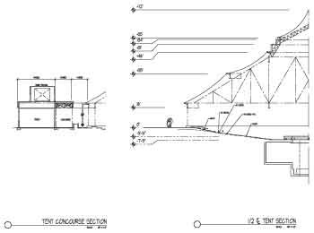 Tent Structure Section